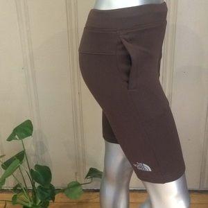 North Face Boys Fleece Lined Bermuda Shorts